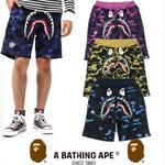 多色 迷彩  AAPE  カジュアル ショートパンツ メンズ レディース