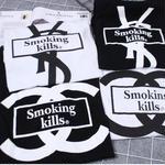 イヴ・サンローラン/yves saint laurent Tシャツ 半袖 可愛い 白黒選択 可愛いTシャツ オシャレ