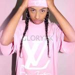 夏新作★ルイ・ヴィトン/LouisVuitton ピンク!可愛いTシャツ 送料込 部屋着 セレブ愛用