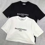 バレンシアガ balenciagaTシャツ 男女兼用 ウィメンズファッション メンズファッション ホワイトとブラック選択 お買い得