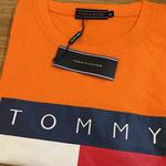 Tommy Hilfiger半袖Tシャツ シンプル 1色のみ 夏新作 ウィメンズファッション メンズファッション
