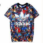 アディダスTシャツ カットソー シャツ シンプル ウィメンズファッション メンズファッション 人気美品 可愛い
