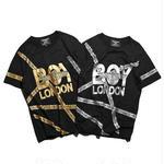 BOY LONDON/ボーイロンドン カップル 半袖 tシャツ 男女