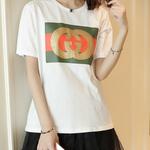 激安 グッチ Tシャツ 男女兼用 2色 可愛い