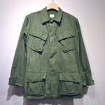 60s US ARMY / Jungle Fatigue Jacket 3rd S/S Custom / Rip Stop