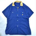 Vintage Bowling Shirts / Blue