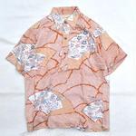 USED ALOHA SHIRTS / JAPANESE PATTERN / Made in Hawaii