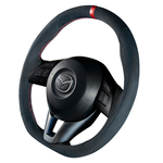 "DAMD Sports Steering Wheel for MAZDA ""SS360-M"" Suede Type"
