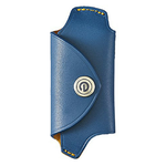 DAMD Leather Key Case for MAZDA -navy-