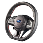 "DAMD Sports Steering Wheel for SUBARU ""SS362-RX"" Leather Type"