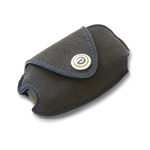 DAMD Premium Suede Key Case for SUBARU -Ultra Suede × Blue Stitch-