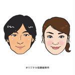 似顔絵/オリジナル/男女