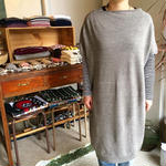 koton ねじれニットドレス