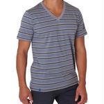PACT/パクト【S13-MSV-GRS】メンズ Tシャツ MEN'S-V- NECK-GRAVEL STRIPE