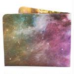【SOL015GAL】paperwallet/ペーパーウォレット-Pattern Wallet-GALAXY タイベック素材 紙の財布