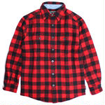 WOOLRICH(ウールリッチ)【6135-RBL】-L/S SHIRT-MNS-WOOL BUFFALO SHI-RED/BLACK