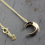 Crescent Necklace#GOLD(チェーンセット)