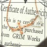 GRIM Works 1点もの SV925×K18PG上質メッキブレスレット