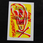 """Death is certain"" Sticker"