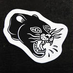 """Black panther"" Sticker"