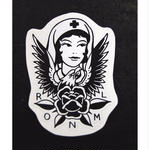 """ROSE OF NO MANS LAND"" Sticker"