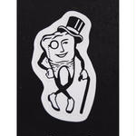 """Mr.Tooth"" Sticker"
