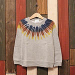 "JAVARA ""INDIAN LACE"" kids sweat (NAVY&BROWN)"