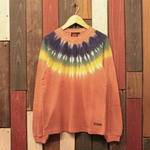 "JAVARA ""IDIAN LACE""L/S tee(orange)"