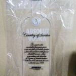 ABSOLUT VODKA 卓上アクリルネオン(未使用)