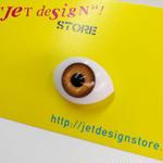 Eye Pins (brown)