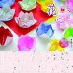 花心 和紙おりがみ両面 25㎝ P0101