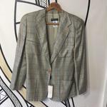 【未使用】イタリア製 アルマーニ ヴィンテージ  千鳥格子柄 ジャケット