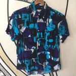 【派手】ファッション アート デザイン 日本製 レーヨン 柄シャツ