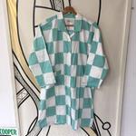 【人気】フラッグチェック ロング パジャマシャツ