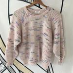 【人気】パステルモヘアニットセーター