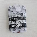 パリのスーパーMONOPRIX エコバッグ PARIS柄