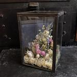 【限定一点】Lilaf ガラスとアイアンのアレンジメント(小)