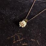 【限定一点】Lilaf アンティークローズのネックレス green