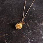【限定一点】Lilaf つぼみのネックレス yellow