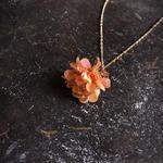 【限定一点】Lilaf デイジーのネックレス orange
