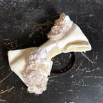 【限定】Lilaf リボンとお花のヘアゴム white