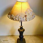 【限定一点】Lilaf 小花とアンティークレースのランプシェード