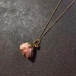 【限定一点】Lilaf 小花のネックレス pink