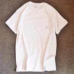 LUCKYWOOD【 ラッキーウッド】BASIC POCKET TEE  ポケット Tシャツ アッシュグレー