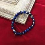 ☆武骨×エレガント☆mancino【マンチーノ】MABRPI bracelet BLUE