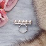 Balance pearl ring
