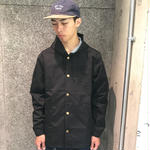 SPITFIRE  LIFER EMB COACH JACKET BLACK