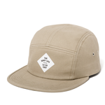 THE QUIET LIFE TRAVELER 5 PANEL HAT BLACK/KHAKI