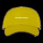 SURF IS DEAD STRANGER WAVES 6PANEL CAP YELLOW