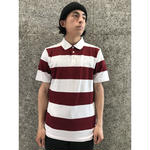 NIKE SB NUMBERS DRI-FIT POLO TEAM RED